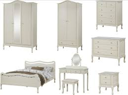 Bedroom Furniture Blackburn Loire Shabby Chic Ivory Bedroom Furniture Wardrobe Chest Bed