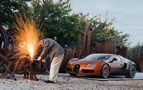 custom bugatti bugatti partners with french artist for new veyron grand sport venet