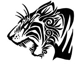 tribal tiger the second by greenyfoxy on deviantart