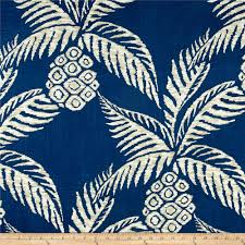 duralee pina pineapple navy valance curtains valance and upholstery