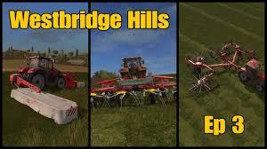 let u0027s play farming simulator 17 ps4 westbridge hills ep 3 youtube