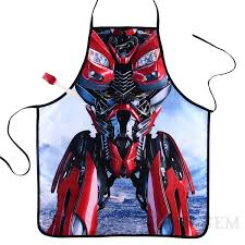 Personalized Kitchen Aprons Aprons Transformers Dino Kitchen Apron Movie Characters Novetly
