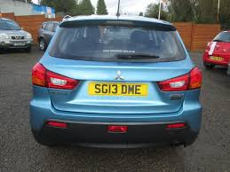 mitsubishi blue used blue mitsubishi asx for sale torfaen