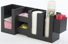 coffee condiment organizer tabletop or wall mount u0026 6 compartments