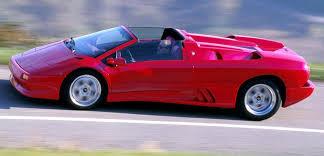 1986 lamborghini diablo 1995 1998 lamborghini diablo vt roadster specifications