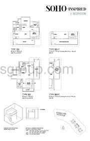 Gateway Floor Plan by Soho 2 Bed J Gateway