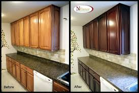 cabinet how to refinish oak kitchen cabinets refinishing oak