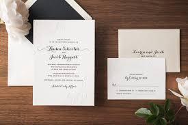 classic floral letterpress wedding invitation u2022 noteworthy letterpress