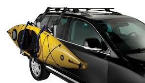 porta kayak per auto thule 897xt hullavator kayak roof rack mount carrier