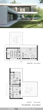 modern architecture floor plans modern house plan villa air designed by ng architects