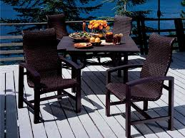 Tropitone Shoreline by Tropitone Lakeside Woven Dining Set Lkwds