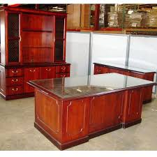 Used Home Office Furniture by Dallas Office Furniture Used Executive Desk Set New And Used