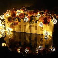 warm white led twinkle lights 11 3ft led warm white 20 led and metal ball twinkle light string