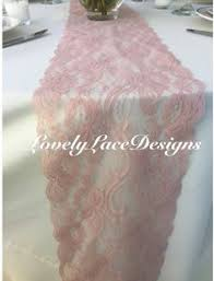 dusty rose table runner sale weddings lace table runner dusty rose 5 5in wide wedding