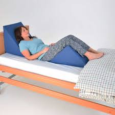 large 45 angle bed wedge with cover nrs healthcaret