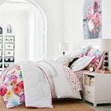 Teen Floral Bedding Maybaby Mod Floral Comforter Sham Pbteen Interiors Bedrooms