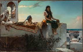 file benjamin joseph constant une terrasse au maroc jpg
