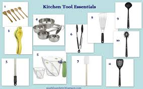 kitchen utensil names and pictures kitchen tools and equipment
