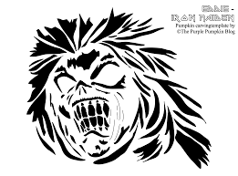 Zombie Pumpkin Stencil by 35 Pumpkin Carving Patterns Craftyoctober The Purple Pumpkin Blog