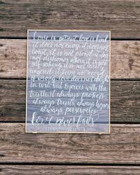 1 corinthians 13 wedding 1 corinthians 13 sign is patient is custom wedding