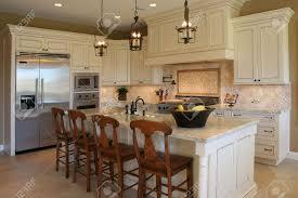 Luxury Kitchen by A Newly Remodeled Modern Luxury Kitchen Horizontal Stock Photo