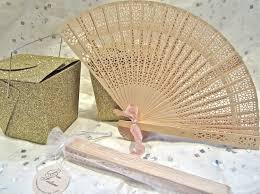wooden fans wood fans wedding favors