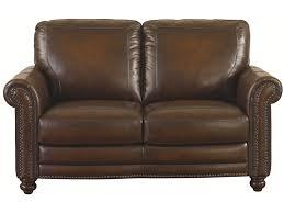 bassett hamilton motion sofa bassett hamilton 3959 42s traditional loveseat with nail head trim