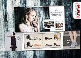 italien design schuhe image flyer für designer schuh label werbeagentur kramer