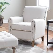 Nailhead Accent Chair Belham Living Nala Arm Chair With Nailheads Hayneedle