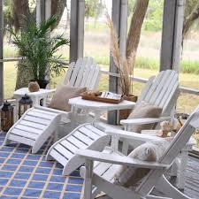 Lifetime Patio Furniture by Lifetime Essentials Adirondack Chair Footrest On Sale
