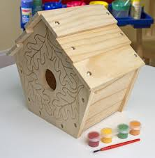 melissa u0026 doug build your own wooden birdhouse craft kit toys