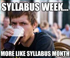 Florida State Memes - syllabus week fsu style florida state seminoles online magazine