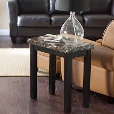 applying narrow end table in living room home furniture and decor