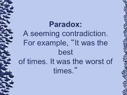 paradox literary devices pinterest