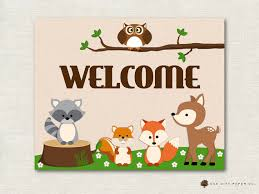 woodland creatures baby shower decorations woodland animal baby shower decorations woodland animal baby
