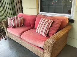 antique wicker sleeper sofa home design ideas