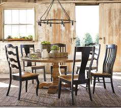 Bassett Bench Made  Rectangular Table With Industrial Style - Bassett dining room