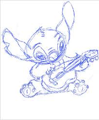 stitch sketch by lizzie9009 on deviantart