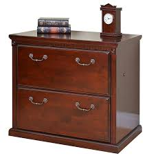 Cherry Wood File Cabinet 4 Drawer amazon com martin furniture huntington club office 2 drawer