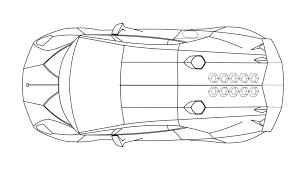 lamborghini sesto elemento side and top views smcars net car