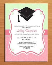 graduation party invitation wording graduation party invitations wording