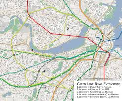 Red Line Mbta Map by Thegreenline U2013 Vanshnookenraggen