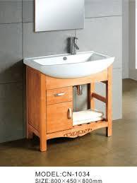 Solid Wood Bathroom Cabinet Best Wooden Bathroom Cabinet Solid Wood Bathroom Storage Furniture