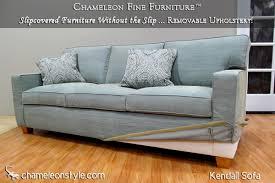 Teal Couch Slipcover Kendall Sofa Modern Slipcovered Sofa Chameleon Fine Furniture