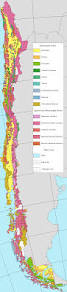 South America Climate Map by South American Geologic Maps For All 14 Countries Chile