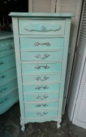 Shabby Chic Lingerie Chest by Shabbylicious Lingerie Chest Vintage Painted Furniture