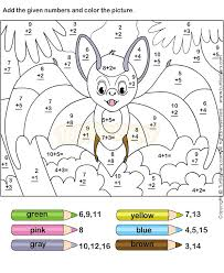 20 best addition worksheets images on pinterest color by numbers