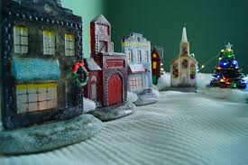 free christmas village project guide winter holidays delphi glass