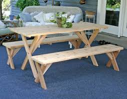 stunning ideas picnic table dining room handmade picnic table and