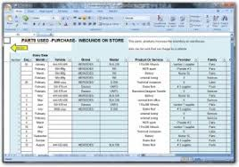 maintenance tracking spreadsheet excel and planned maintenance